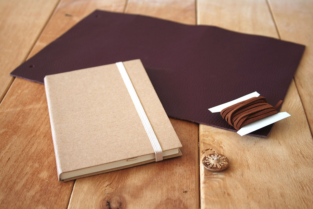 DIY - Leather notebook