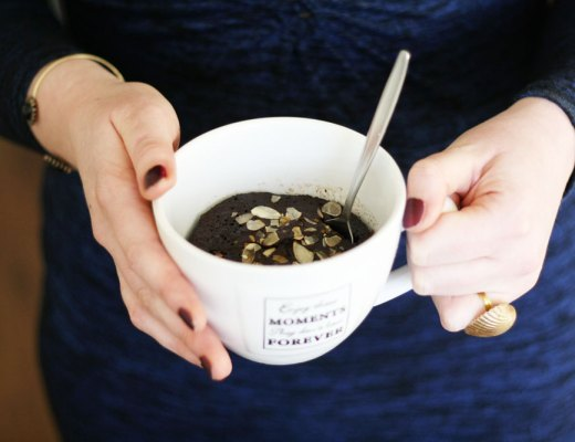 Recipe - Paleo chocolate mug cake