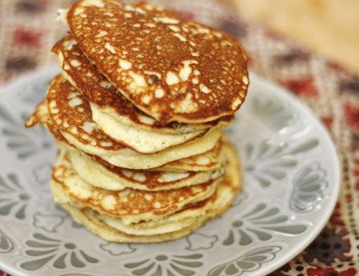 Recipe - Paleo & gluten free pancakes