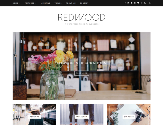 Redwood Theme Themeforest