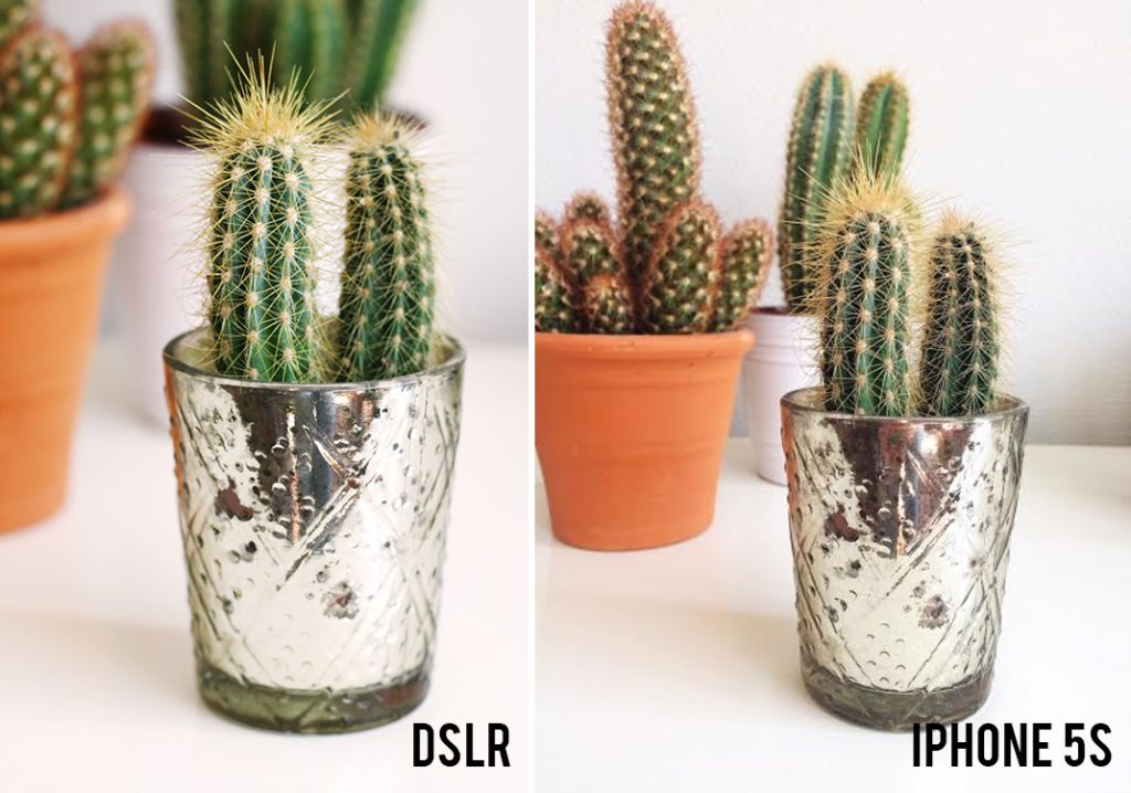 dslr versus iphone pictures