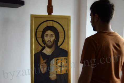 "The Christ Pantocrator (""Ruler of All"") icon from Mt. Sinai"