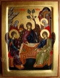 The Holy Trinity, byzantine icons for sale
