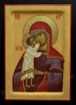 Mother of God icon, byzantine painting for sale