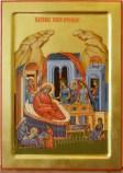 Icoana pictata - Nasterea Maicii Domnului.The Nativity of the Theotokos Icon