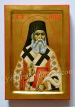 Saint Nektarios of Aegina byzantine icon