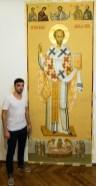 saint john chrysostom painted icons