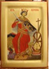 Saint Catherine the Great Martyr, byzantine icons for sale