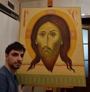 Veil of Veronica byzantine icon