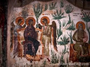 Mural painting Gracanica monastery (11)
