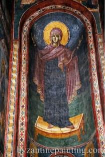 Mural painting Gracanica monastery (2)