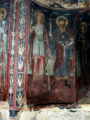 Mural painting from the Cozia Monastery (36)