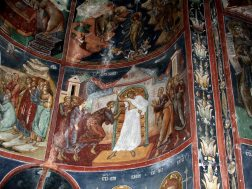 Mural painting from the Cozia Monastery (39)
