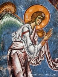 Mural painting Kurbinovo Macedonia (13)