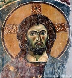 Mural painting Kurbinovo Macedonia (2)