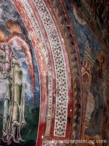 Mural painting Kurbinovo Macedonia (9)