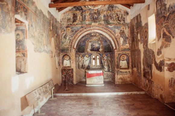 Pictura in fresca Kurbinovo Macedonia (22)