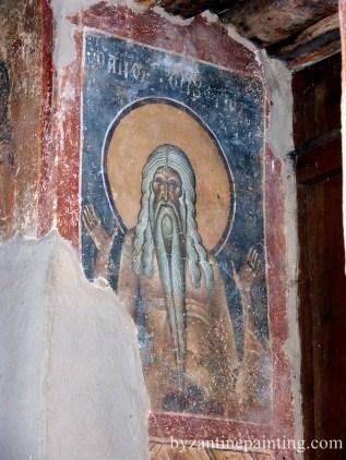 Pictura in fresca Kurbinovo Macedonia (6)