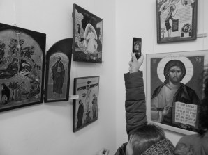National Exhibition Contest of painting icons on wood and glass