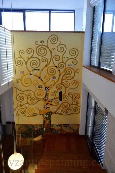 Pictura decorativa pe pereti (2)