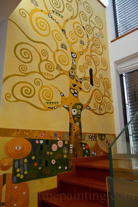 Pictura decorativa pe pereti (7)