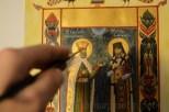 Miniatura bizantina Sfantul Constantin Brancoveanu si Sfantul Antim Ivireanul (4)