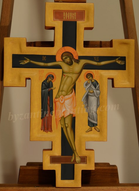 crucifix-painted cross