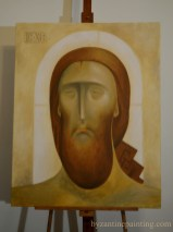 contemporary iconography - Jesus Christ . Liviu Dumitrescu