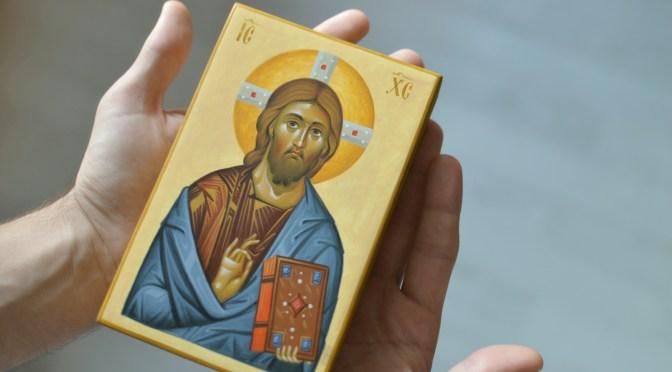 Icoana pictata – Iisus Hristos