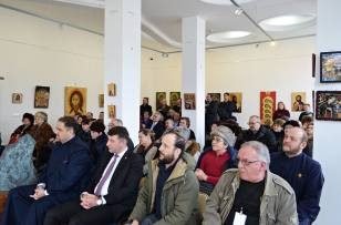 Expozitie concurs de iconografie -Din Lumina. Roman Art Gallery (1)