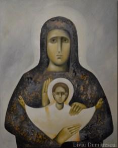 Maica Domnului - Trihirussa. Arta Contemporana Religioasa