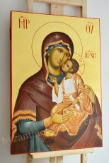 Byzantine icon-Mother of God with The Child Jesus