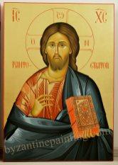 Jesus Christ Pantocrator- byzantine icon