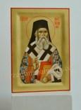 Sfantul Ierarh Nectarie -Icoana pictata pe lemn