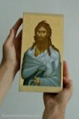 Sf. Ioan Botezatorul -icoana pictata pe lemn