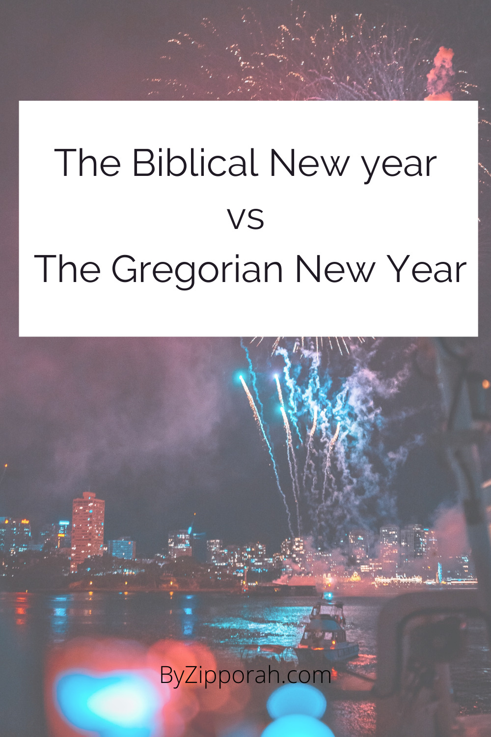 The Biblical New Year vs The Gregorian New Year