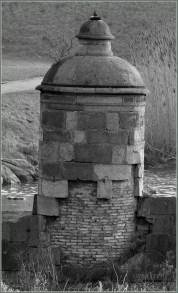 Jedna z Kamiennych Dziewic przy Śluzie Kamiennej