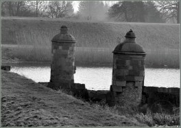 Śluza Kamienna - widok na Dwie Dziewice Gdańsk