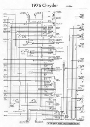 76 Chrysler Cordoba Wiring Diagram | Wiring Library