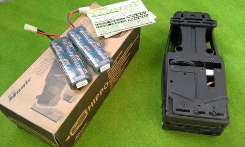 starter box team magic + 2 batteries NIMH 2000mAh 7,2