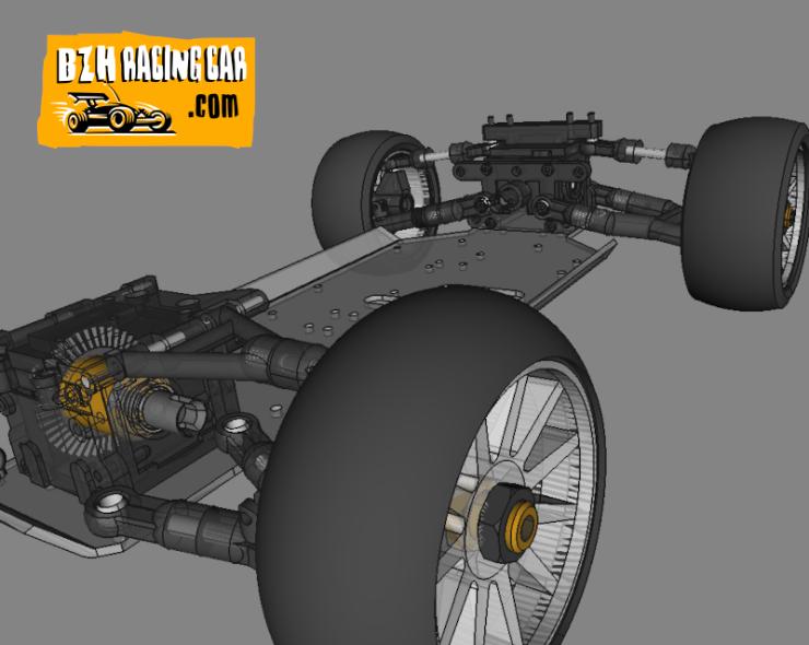 Châssis YANKEE 88-89 modélisation 3D