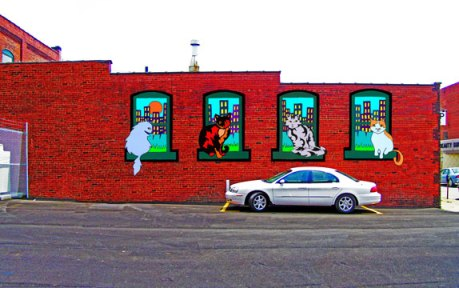 Downtown-cats-mural-canton-OH