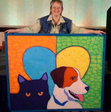 BlogPaws West Mural
