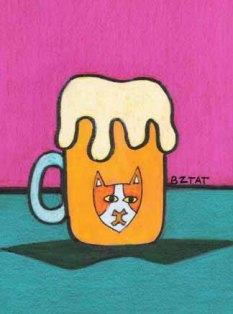 Brew-Beer-mug-cat-drawing-Brewskie-Butt