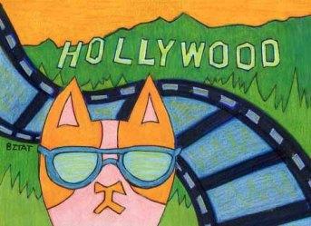 Brewskie Butt Cat in Hollywood