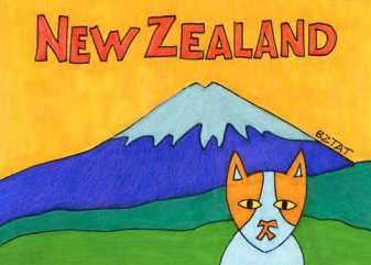 Brewskie-Butt-cat-drawing-New-Zealand