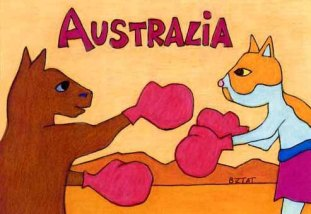 Brewskie-Butt-cat-kangaroo-drawing-Australia