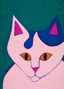 Okey-white-cat-painting-BZTAT