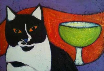 black-white-tuxedo-cat-margarita-painting-bztat