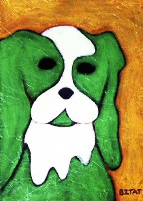 Green-white-dog-painting-BZTAT
